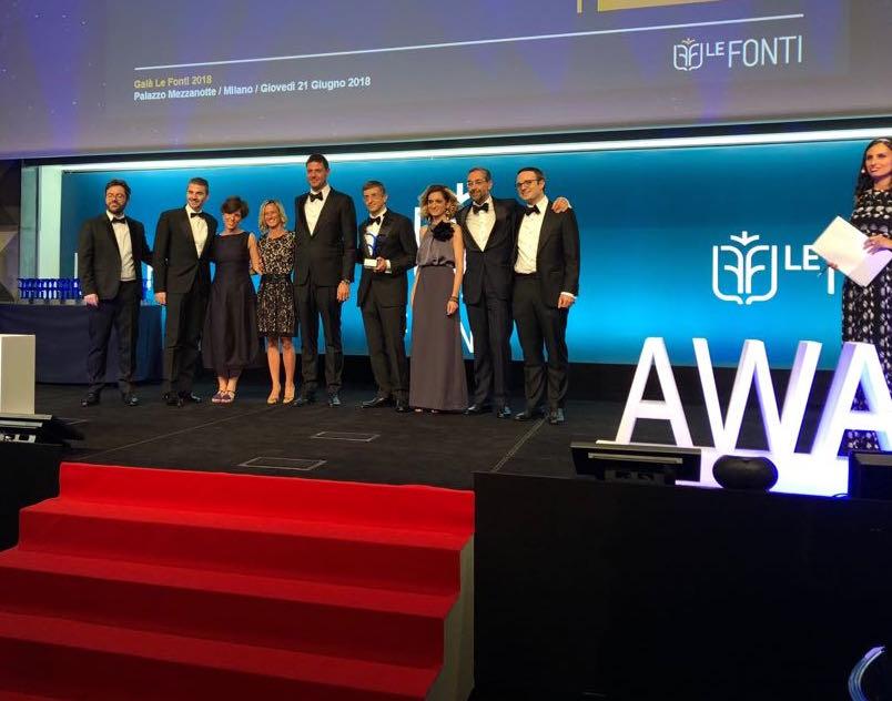 Premiazione Le Fonti Awards 2018